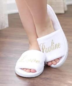 chaussons personnalisées
